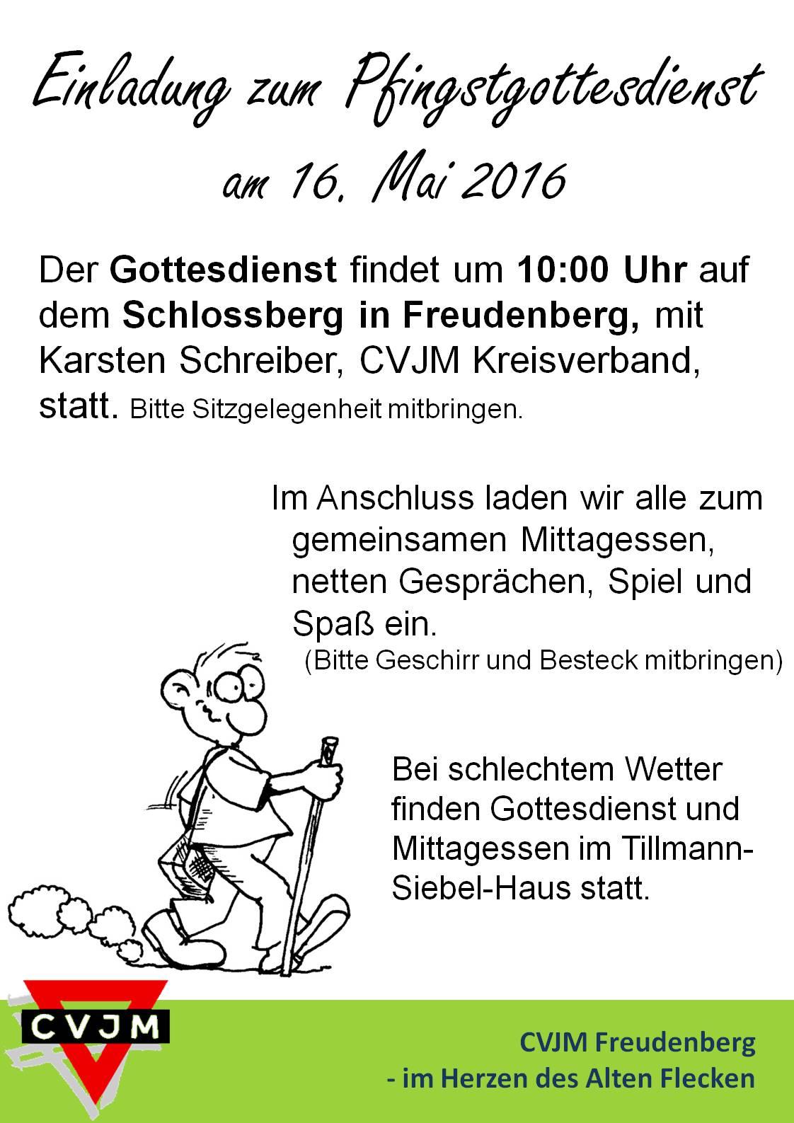Plakat Pfingstgodi 2016
