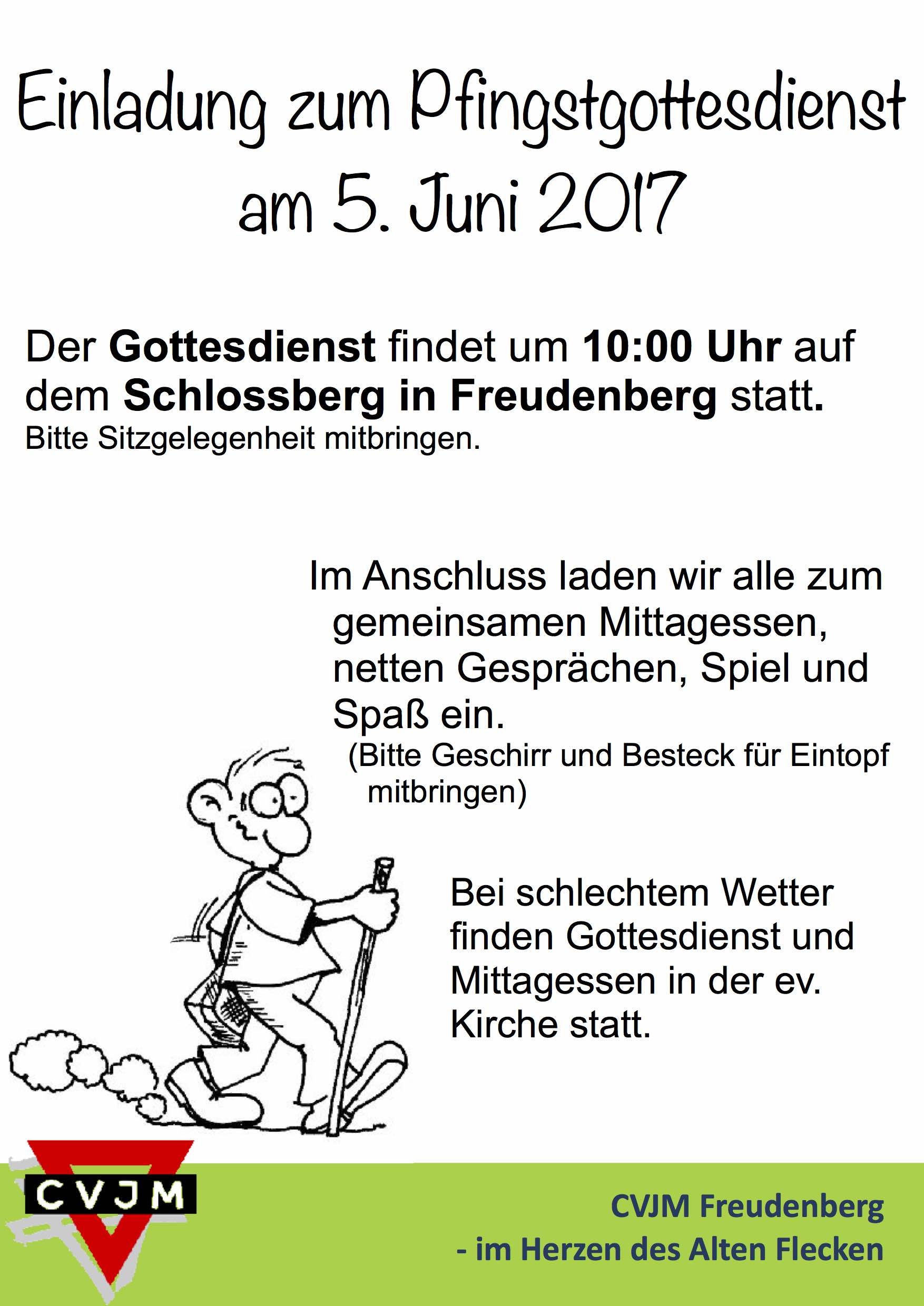 Plakat Pfingstgodi 2017